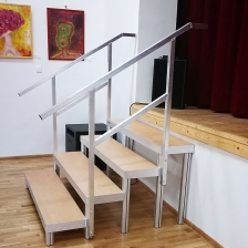Safety Rails - for Fixed Stairs